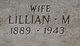 Profile photo:  Lillian Myrtle <I>Fowler</I> Haws