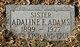 "Profile photo:  Adeline Ethel ""Addie"" <I>Henderson</I> Adams"