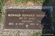 Ronald Edward Adams