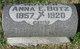 Profile photo:  Anna E. <I>Buck</I> Botz