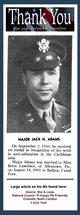 Maj Jack Nolen Adams