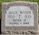 Profile photo:  Alice Weiser