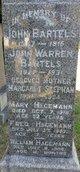 Profile photo:  John Warren Bartels