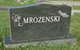 "Thomas Joseph ""Tom"" Mrozenski, Sr"