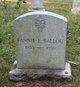 Profile photo:  Fannie E. <I>Warner</I> Ballou