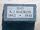 Profile photo:  A. J. Macklin