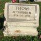 Profile photo:  Alexander M Thom