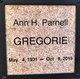 Profile photo:  Ann H <I>Parnell</I> Gregorie
