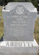 Profile photo:  Benjamin F. Abbott, Sr