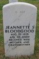 Profile photo:  Jeannette S Bloodgood