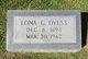 Lona <I>Grantham</I> Dyess