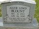Profile photo:  Alver Lewis Blount