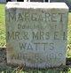 Margaret Watts