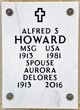 Profile photo: MSGT Alfred Spencer Howard