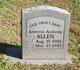 Profile photo:  Anterrio Anthony Allen