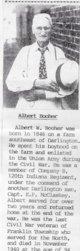 Profile photo:  Albert W Booher