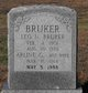 Arline Grace <I>Staples</I> Brucker