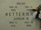 Profile photo:  Georgia M <I>Mayhugh</I> Ketterman