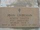 PVT John Lindemann