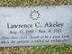 Profile photo:  Lawerence C. Akeley