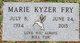 Profile photo:  Catherine Marie <I>Kyzer</I> Fry