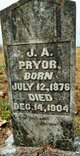 Joe A. Pryor