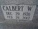Calbert W. Colee