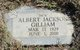"Profile photo:  Albert Jackson ""Jack"" Gilliam"