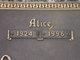 Profile photo:  Alice Affinito