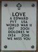 Profile photo:  A Edward Love