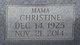 Profile photo:  Christine <I>Hambrick</I> Gordon
