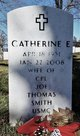 "Catherine E ""Betty"" <I>Hickey</I> Smith"