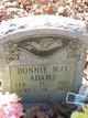 Profile photo:  Donnie May Adams