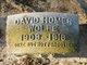 Profile photo:  David Homer Wolfe
