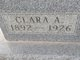 Profile photo:  Clara A. <I>Crawford</I> Wolfe