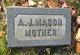 Profile photo:  A. J. Mason