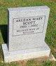 Profile photo:  Arlean Mary <I>Backman</I> Scott