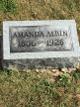 Amanda Ellen <I>Hinds</I> Albin