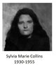 Profile photo:  Sylvia Marie Collins