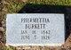 Phurnette (Fernettia) <I>Franklin</I> Burkett