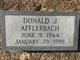 Donald J Afflerbach