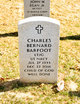 Profile photo: LTJG Charles Bernard Barfoot