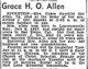 Grace <I>Hamblin</I> Allen