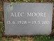 Profile photo:  Alec Moore