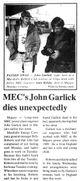 Profile photo:  John Garlick