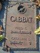 Profile photo:  Fred C. Cabbat
