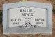 Hallie Louise <I>Hartsfield</I> Mock