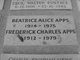 Profile photo:  Frederick Charles Apps