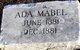 Ada Mabel Airy