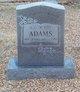 """Profile photo:  Alvin Dearl """"Buddy"""" Adams"""